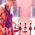 Sangria med Martini og sommerfrukter