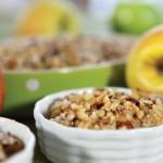 [MAT]Enkel og glutenfri epledessert med nøtter