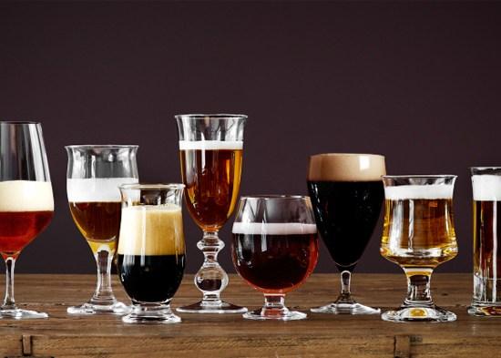 Holmegaard-ølglass
