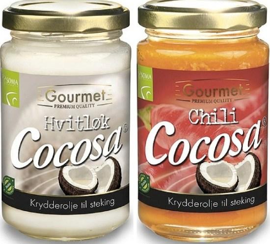 Cocosa Gourmet Hvitløk og Chili
