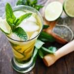 Mojito med grønn te