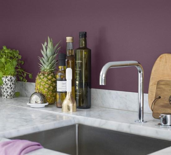 Kjøkken-i-lilla---fargen-Plommon-fra-Beckers
