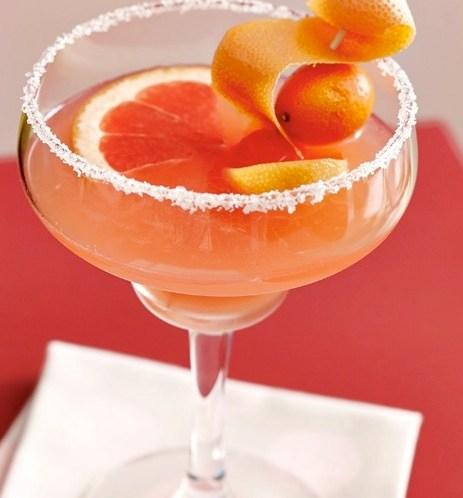 HAPPY HOUR - Oppskrift på Margarita med blodappelsin