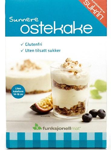 Ostekakemiks fra Funksjonell Mat uten sukker og gluten