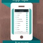 Amount, omregner-app