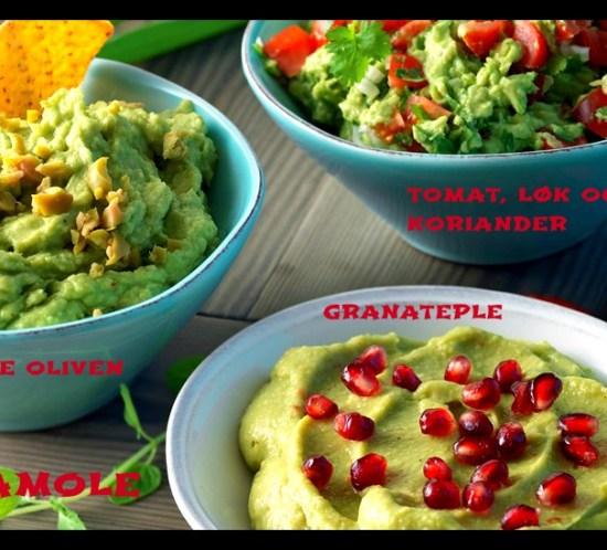 TACOFREDAG-3-oppskrifter-på-guacamole