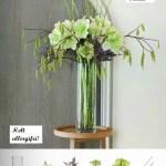 Lag en allergifri bukett med kunstig bjørk, blomster og grener