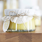 Oppskrift på lemon curd og etikett du kan printe ut