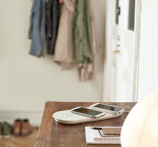 Lading av mobil. Trådløs mobillader fra IKEA