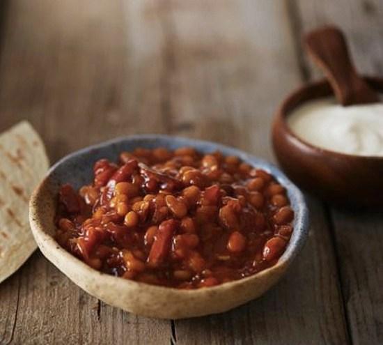 FREDAGSTACO Oppskrift på baked beans