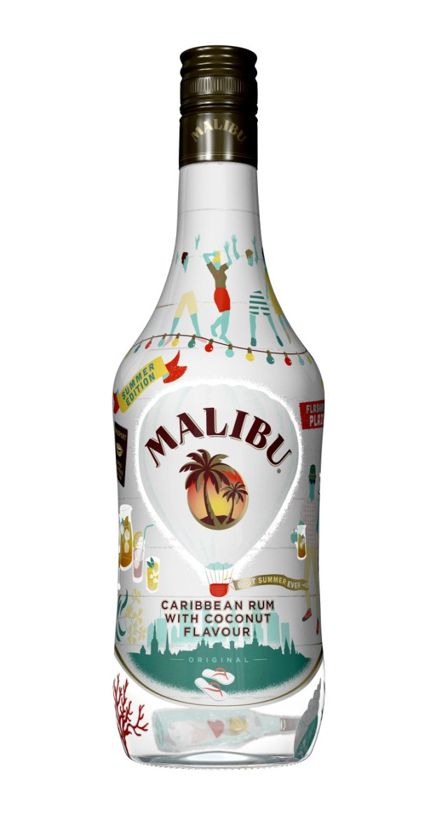 5 enkle sommerdrinker med Malibu