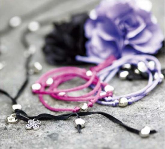 DIY Lag enkelt armbånd og halskjede