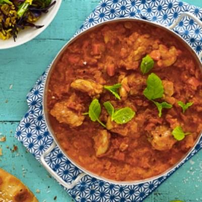 Indisk Chicken Tikka Masala
