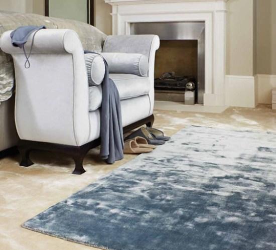 Trendy med teppe på soverommet. Teppe fra Intag