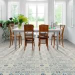 Marokkoinspirerte gulv fås som både laminat, vinyl og fliser
