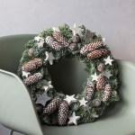 1 nøytral krans = 10 ulike juledekorasjoner