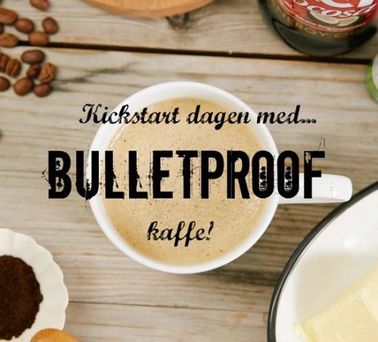 Oppskrift på LCHF bulletproof kaffe med MCT-olje