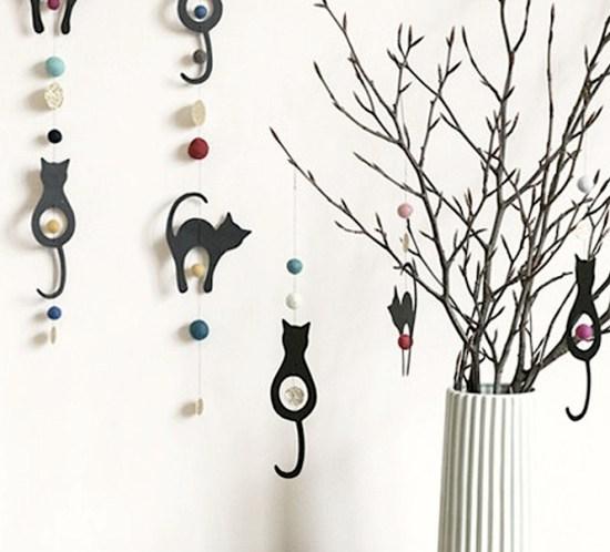 DIY - lag selv - ideer til pynting av fastelavnsris