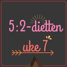 Menyforslag-5-2-dietten for uke 7 - 2016