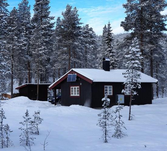 Rimelige hytter til leie i vinterferien 2016 FOTO Torkel Skoglund