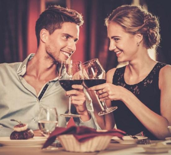 Den mest romantiske middagen