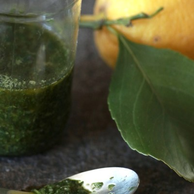 Chimichurri – grønn argentinsk urtesaus
