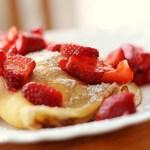 Pannekake og vaniljemousse til 5:2-diett eller Dukan