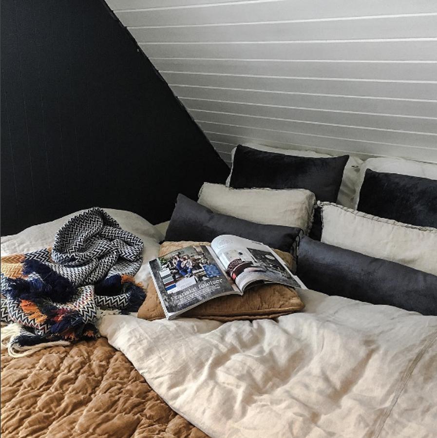 Duften av nyvasket sengetøy på Krisints soverom