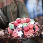 Blomsterkake til hippier og andre (blomster)barn