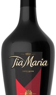Kaffelikøren Tia Maria med ny flaske