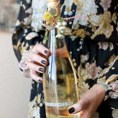 Vin + blomster = vertinnegave