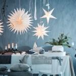 Blått er flott på julebordet (grått også!)