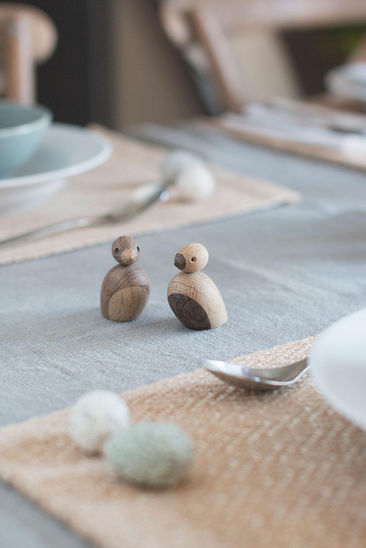 BORDDEKKINGSTIPS til paåke med egg og fugler