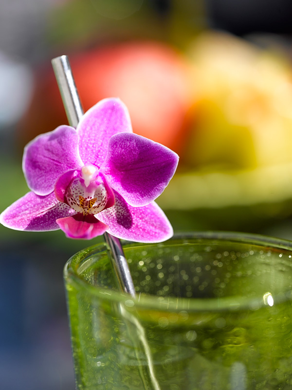 10 creative ideas to table settings with fresh orchids