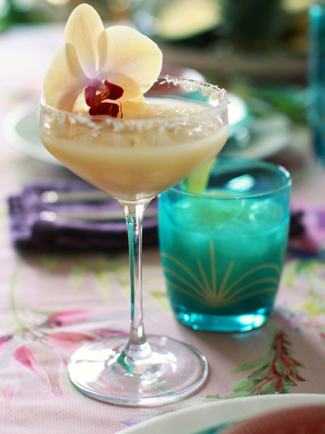 Two recipes for Piña Colada