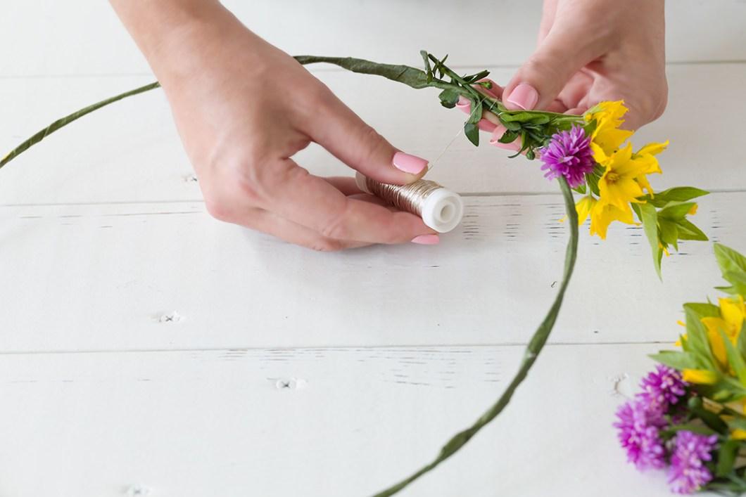 blomsterkans lag selv trinn for trinn