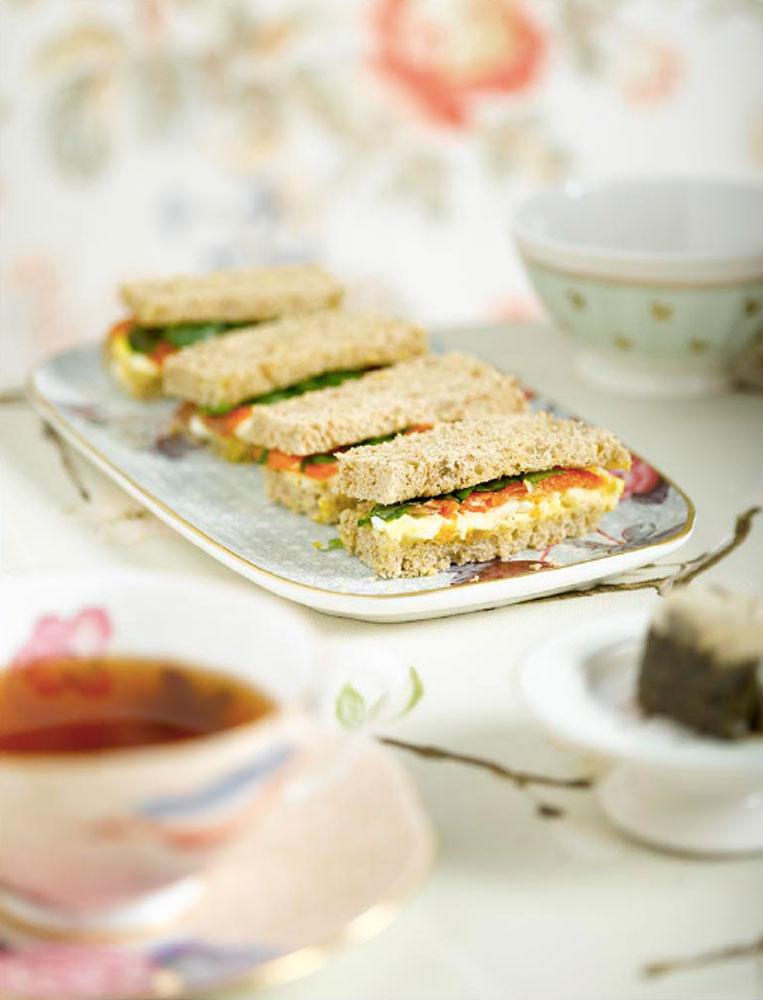 Afternoon tea finger sandwiches BLOG: mariannedebourg.no