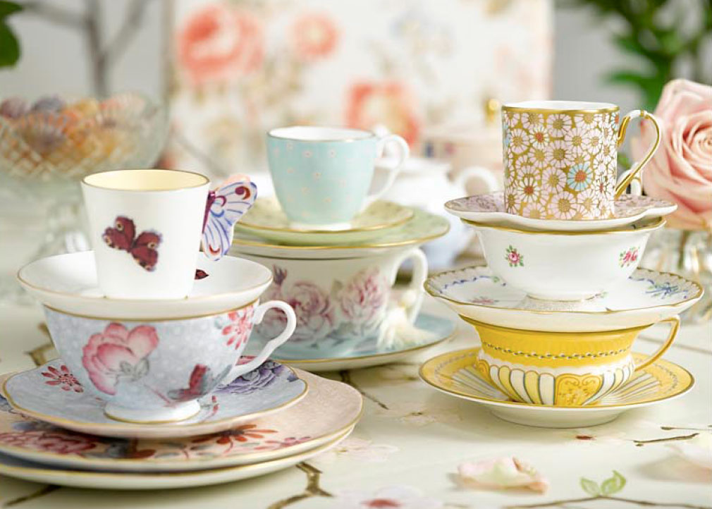Ideas for your next afternoon tea table setting