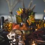Årets halloweenbord (i snill og skummel versjon)