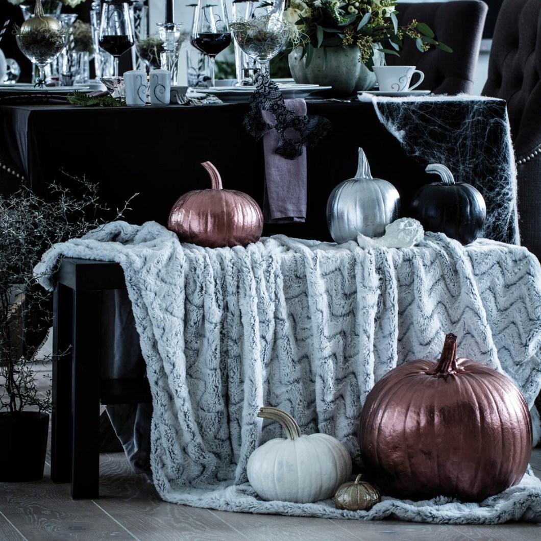Tips og ideer til festbordet som passer til høst og halloween