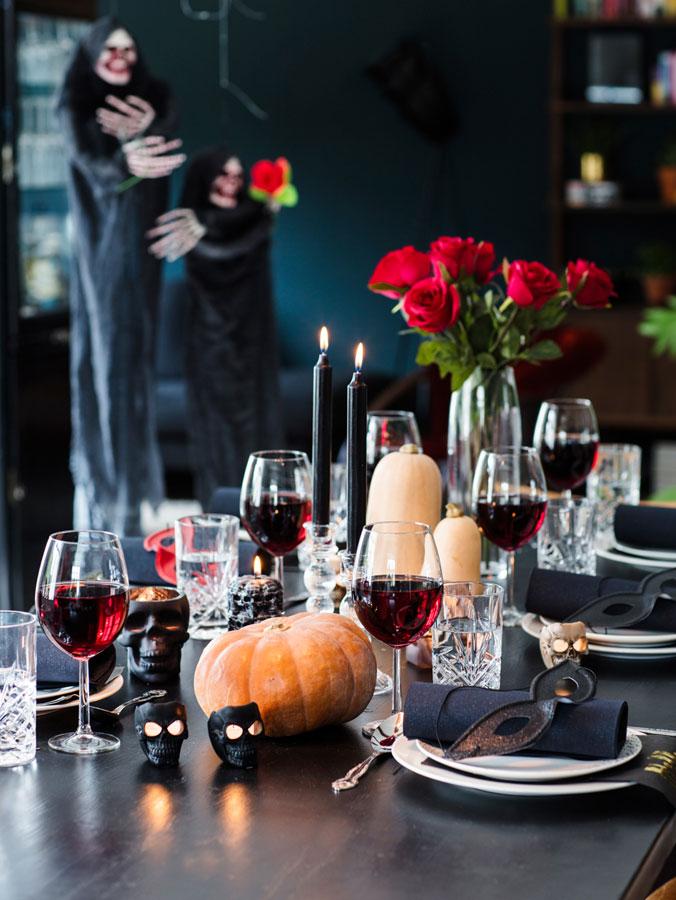 mariannedebourg.no BLOGG borddekkingstips til Halloween fra Nille