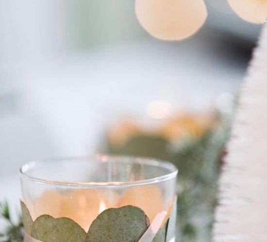 Lag fine telysholdere til julebordet på 1-2-3