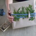 Mitt juleverksted: Kreativ innpakking med tuja
