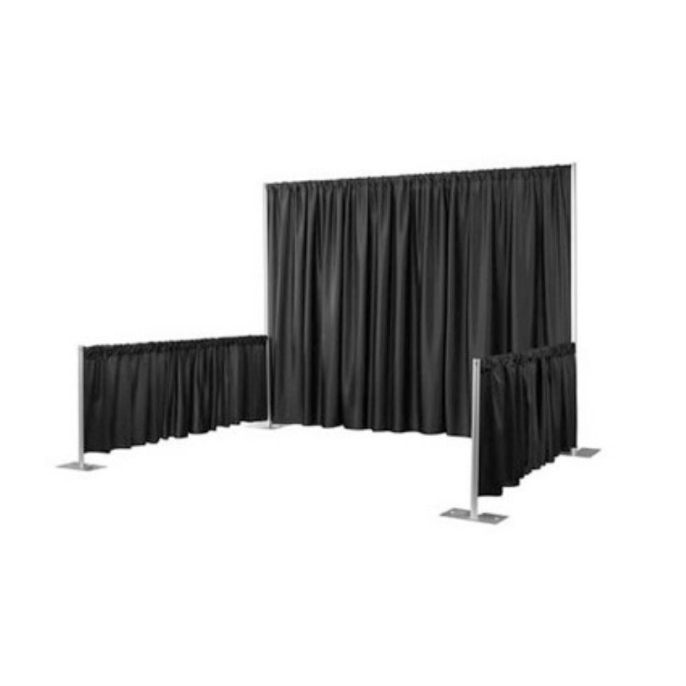 folding chairs for rent swinging egg chair marianne's rentals - pipe & drape: convention booth