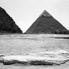 Pyramids, Giza, Egypt.