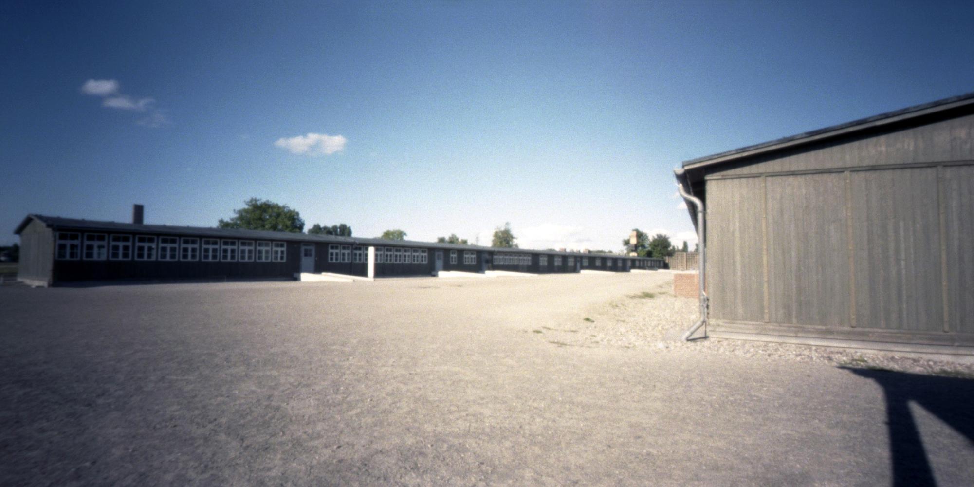 Sachsenhausen barracks, Oranienburg, Germany.