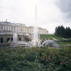 Petergof (петергоф) palace, St. Petersburg, Russia.