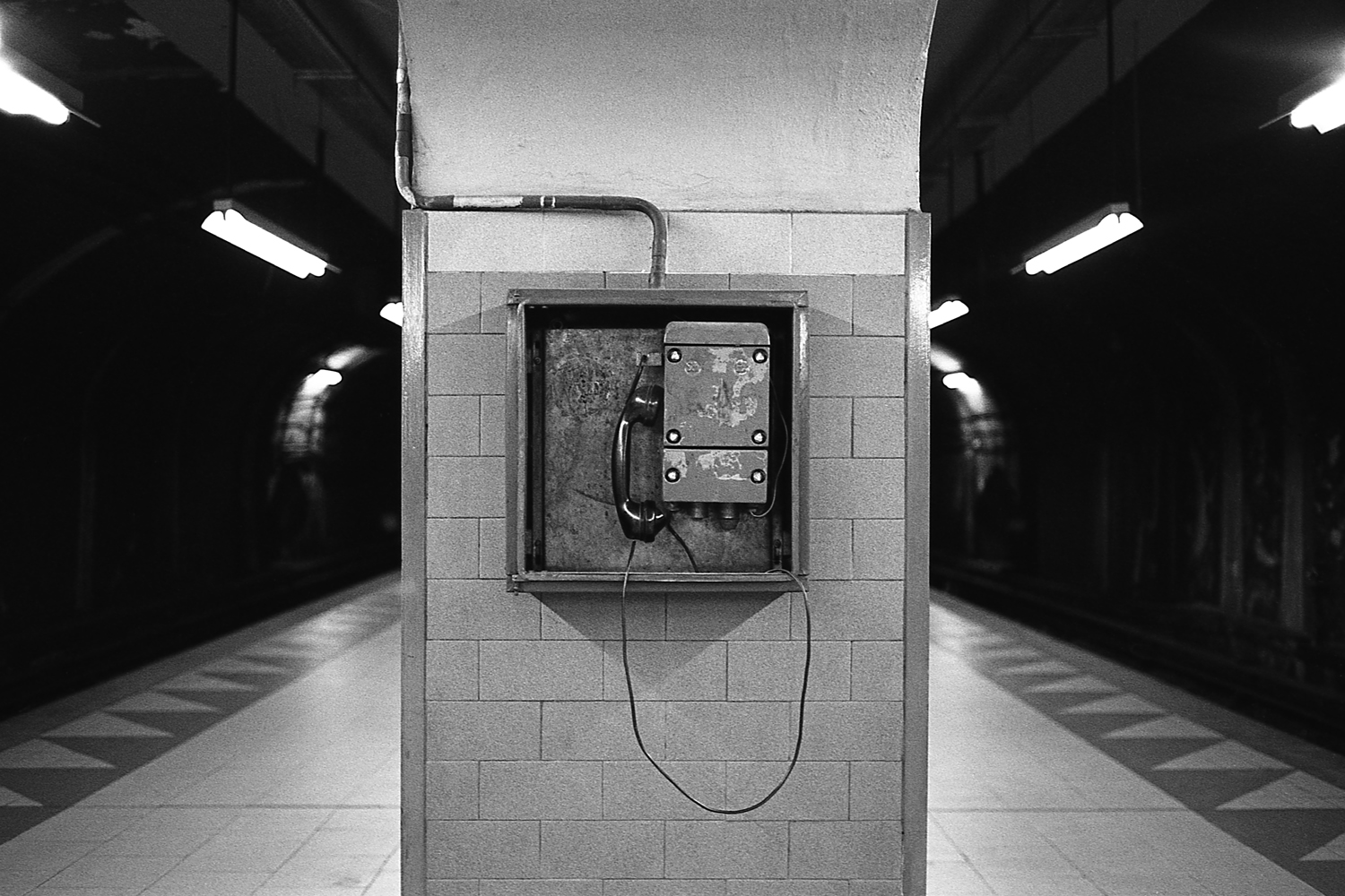 "Communication system, ""E"" line."