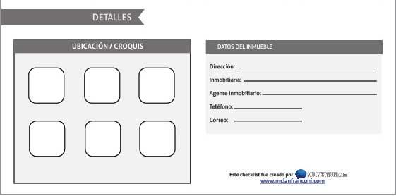 Descarga gratis Checklist para analizar un inmueble