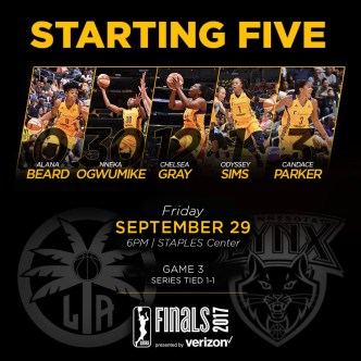 Starting Five Graphic